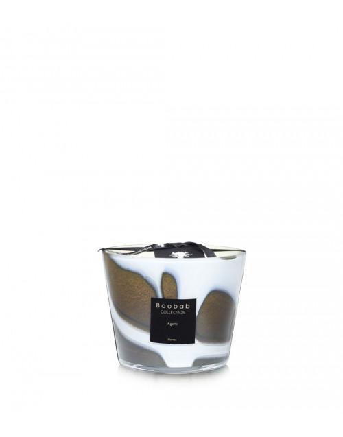 Stones Agate candle-bergamot, Açai berry, Amber
