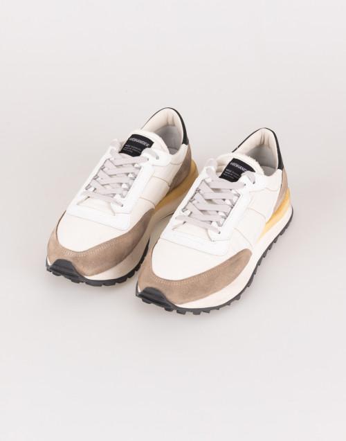 Sneakers Tenkei Bianco e marrone