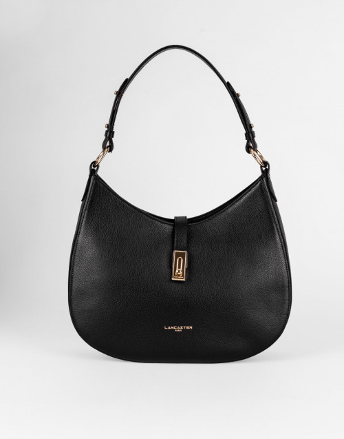 Large black shoulder bag