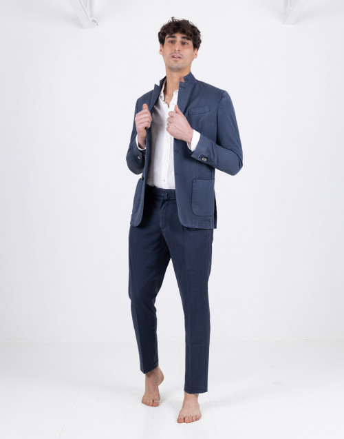 Blu summer tailored trousers