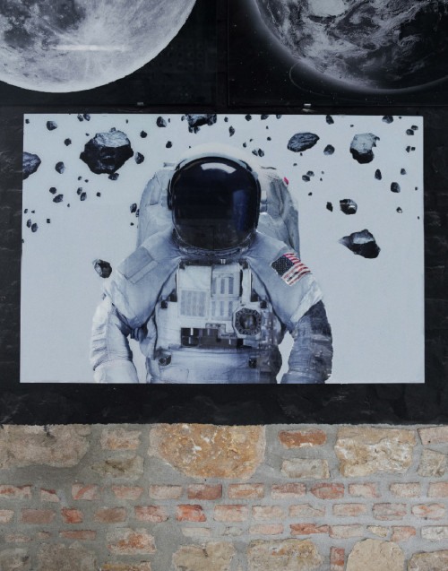 Astronaut print picture