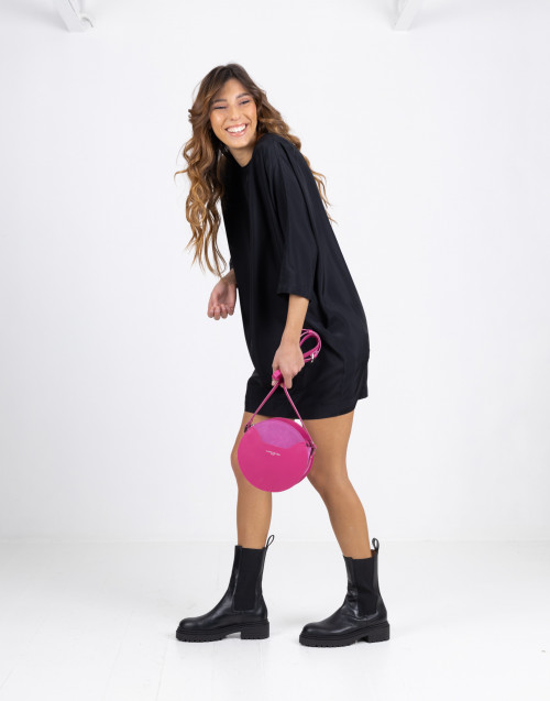 Black egg dress with 3/4 sleeves
