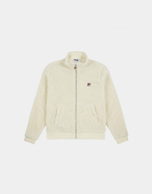 Fleece cream sweatshirt