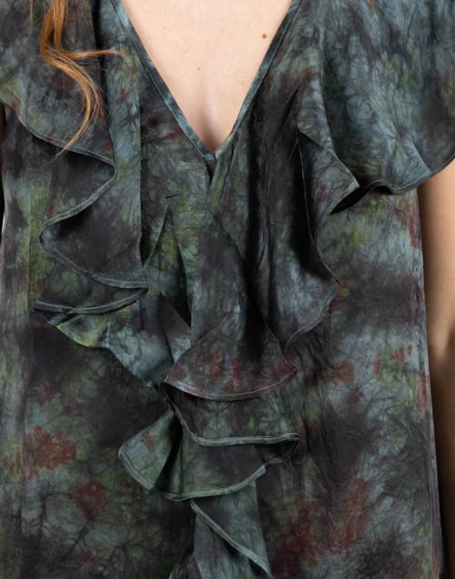 Godavori dress with ruffles