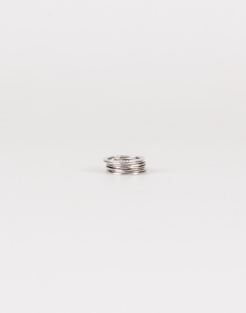 Rrainbow silver ring