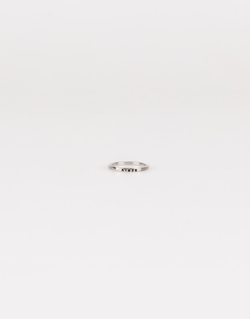Aimer silver ring