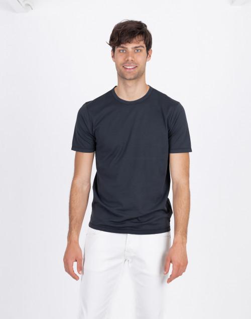 T-shirt cotone nera