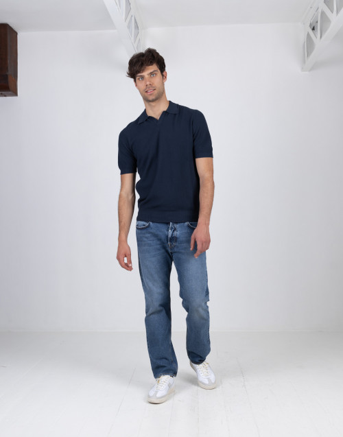 5-pocket medium denim jeans