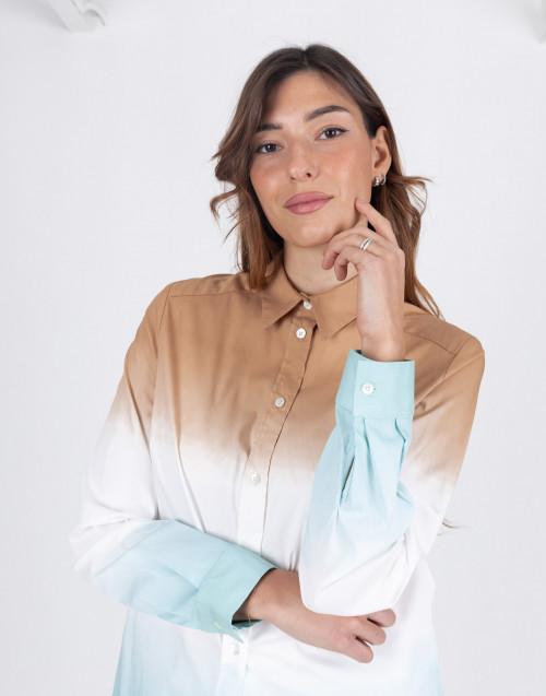 Camicia Dinah popeline tie-dye