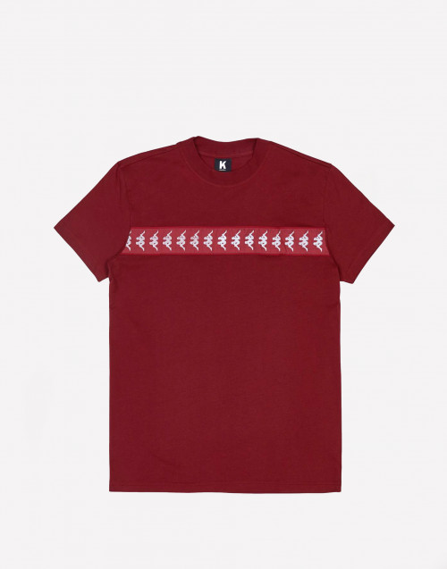 Crewneck bordeaux t-shirt