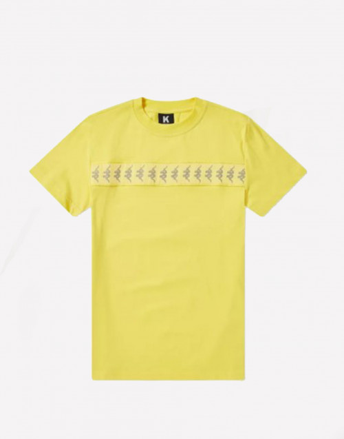 Yellow crewneck t-shirt