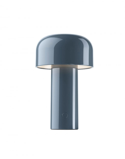 Blue grey Bellhop lamp