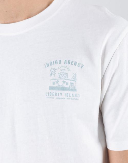 New York ecru t-shirt