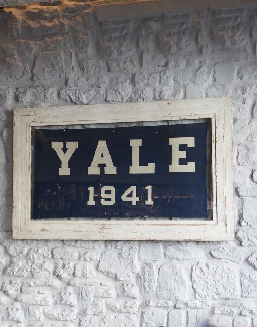 Yale wood frame