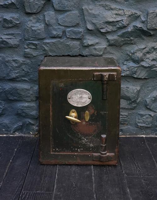 Cassaforte inglese verde petrolio
