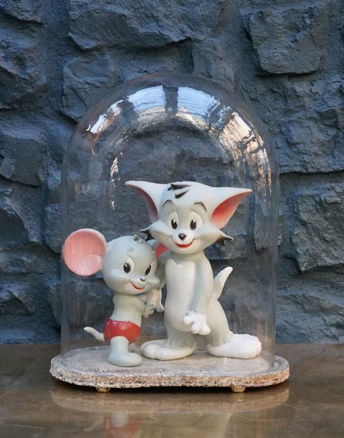 Teca Tom e Jerry vintage