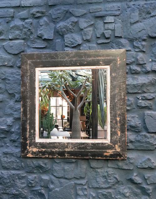 Specchio quadrato Tribus