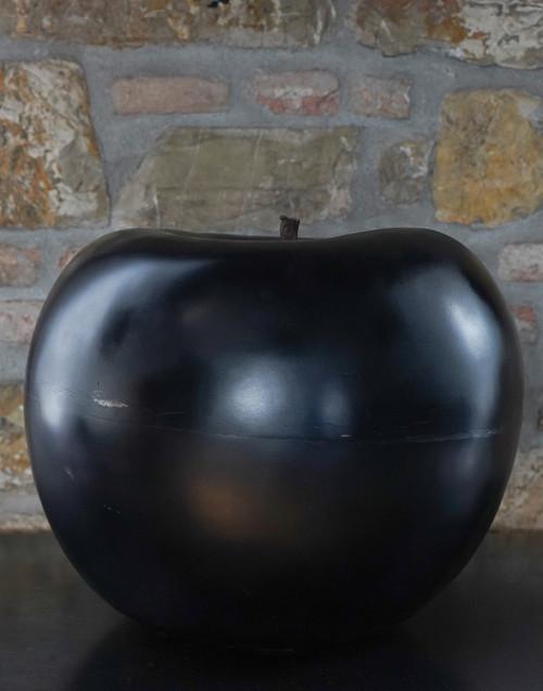 Apple in ceramic and iron