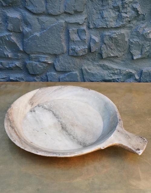 Vassoio in marmo con manico