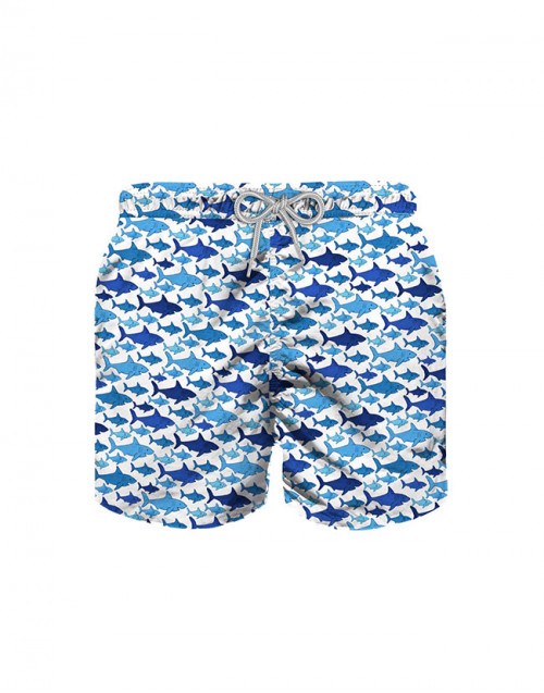 Sharks lighting swim shorts