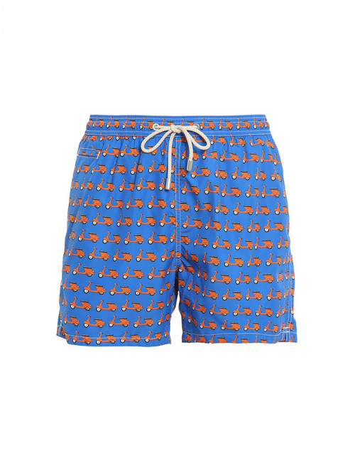Vespa lighting swim shorts