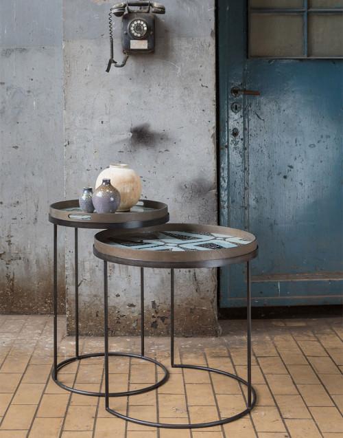 Tavolo per vassoio Rotondo