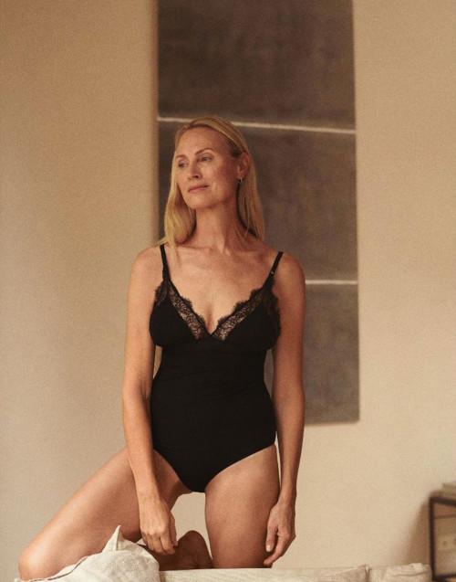 Black Doris Bodysuit