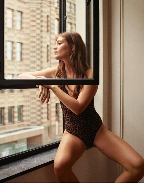 Leopard print Doris Bodysuit