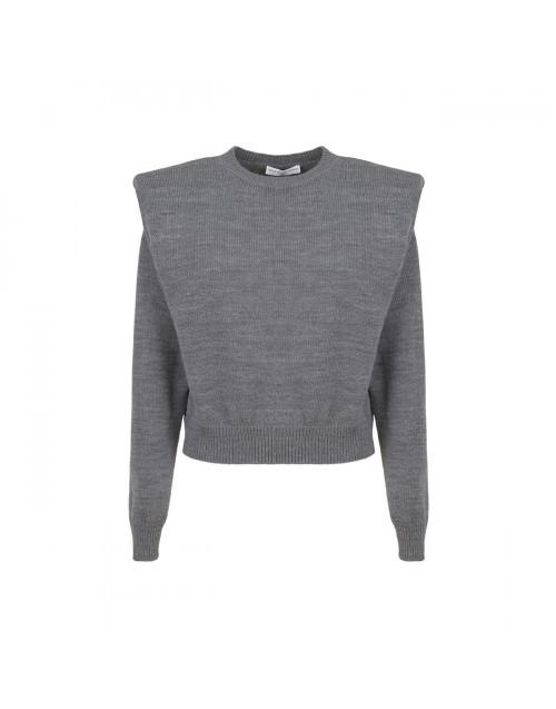 Wool grey Vittoria sweater