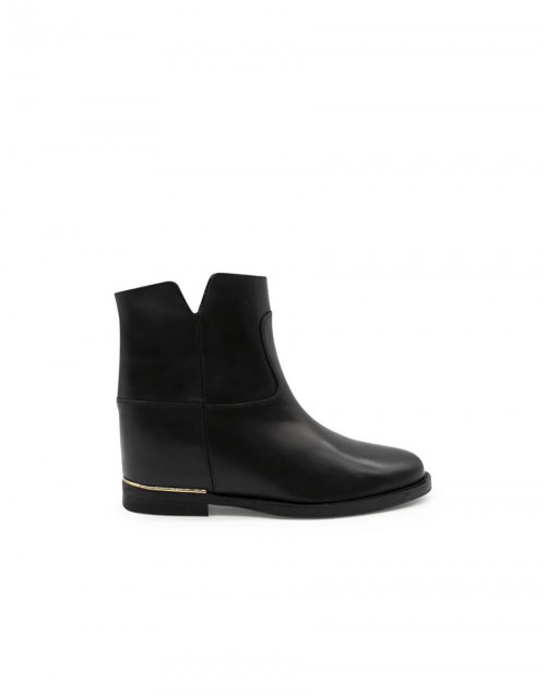 Black Saint Barth ankle boots