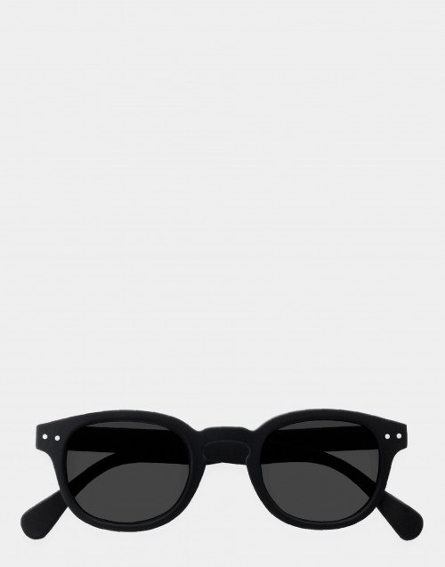 Reading sunglasses thick frame black