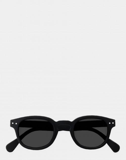 Occhiale da sole e da lettura nero montatura spessa