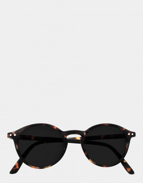 Sunglasses and reading glasses, thin tortoise frame
