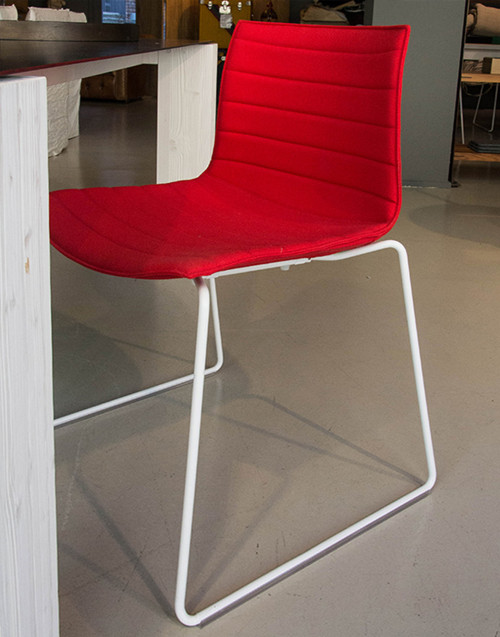 chair catifa 46 red