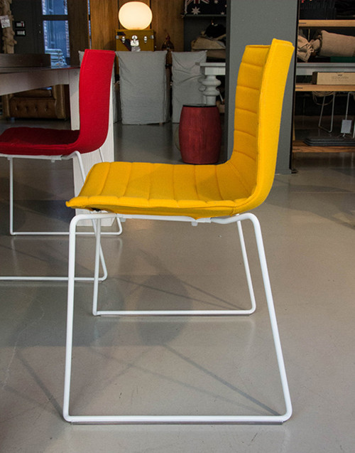 chair catifa 46 yellow