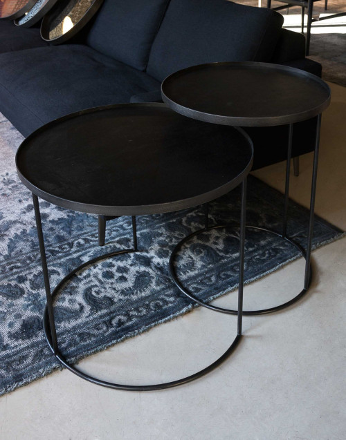 round tray tables set