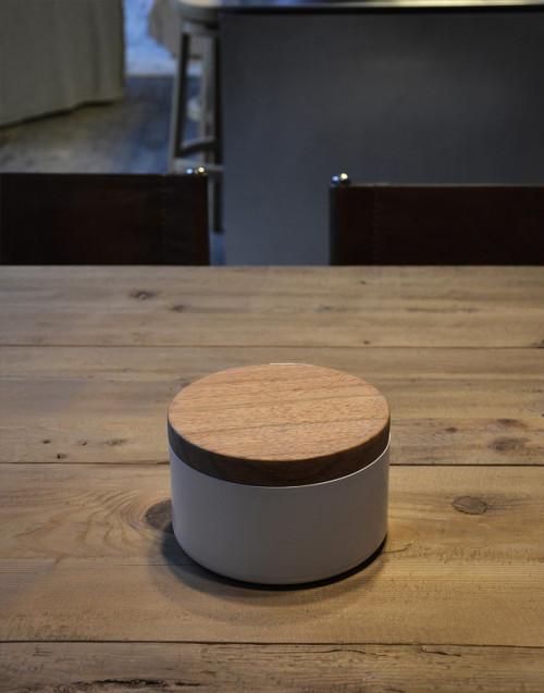 Cover 16 cm Wood Mahogany