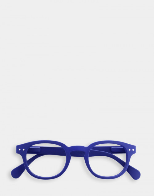Reading glasses blue thick frame