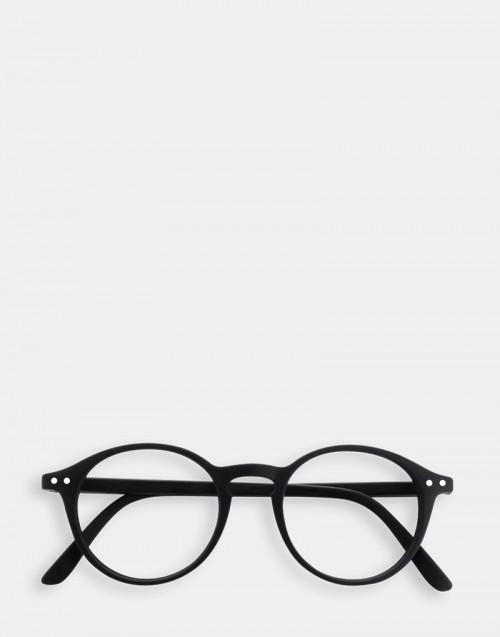 Reading glasses, soft black thin frame