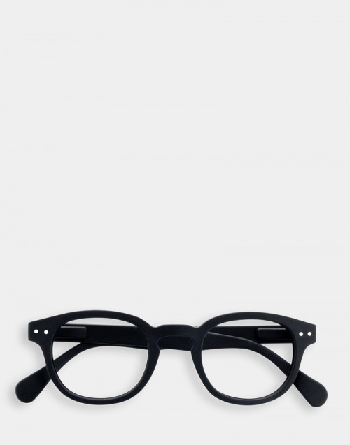 Restful glasses thick black frame