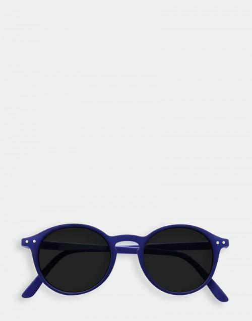 Occhiale da sole e da lettura blu montatura sottile