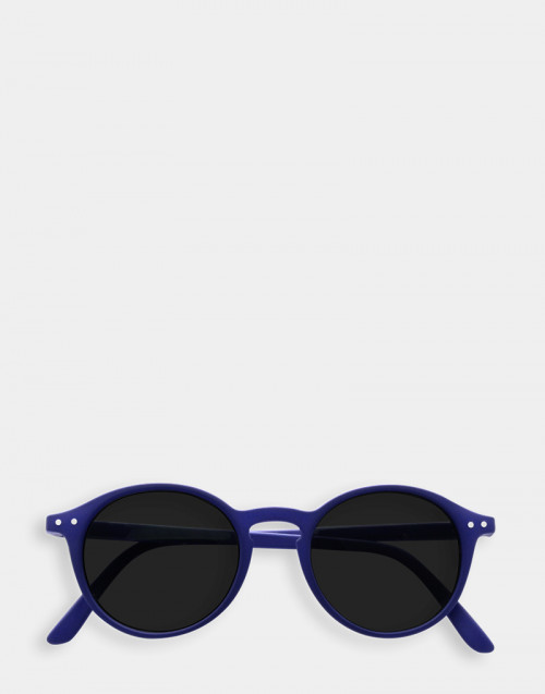 Sunglasses and reading glasses, thin blue frame