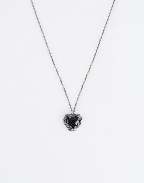 Floral heart pendant