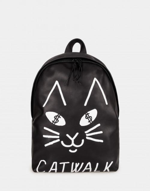 Zaino Catwalk pelle nera