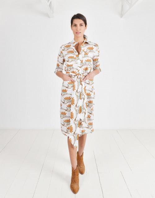 Eva linen dress