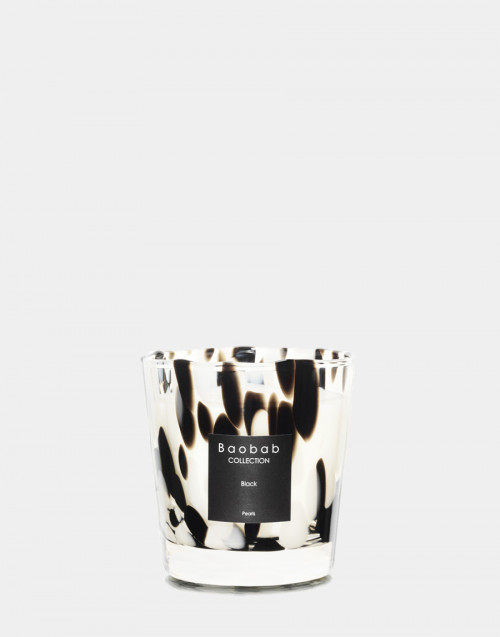 Pearls candle Black max one