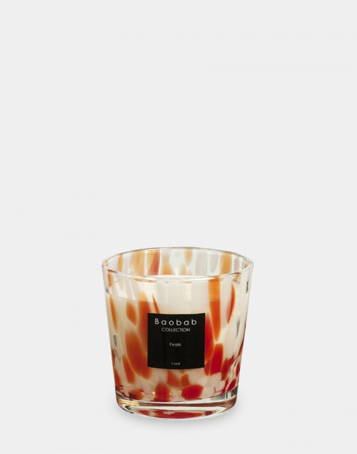 Pearls Coral max one candle