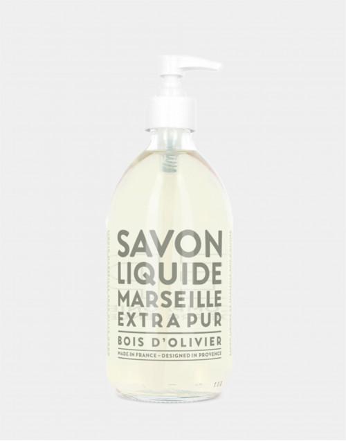 Sapone liquido di Marsiglia 500 ml Bois d'Olivier