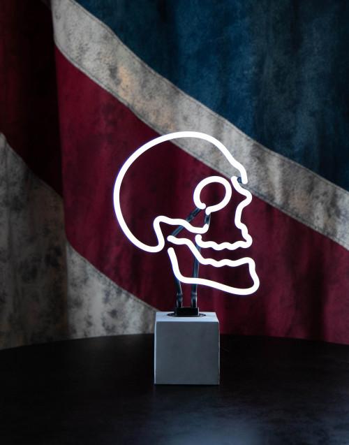 Skull neon lamp