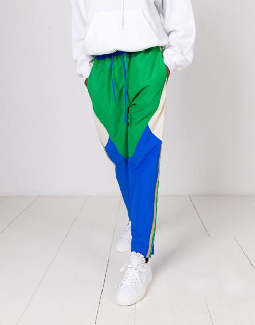 Colorblock jogger pants